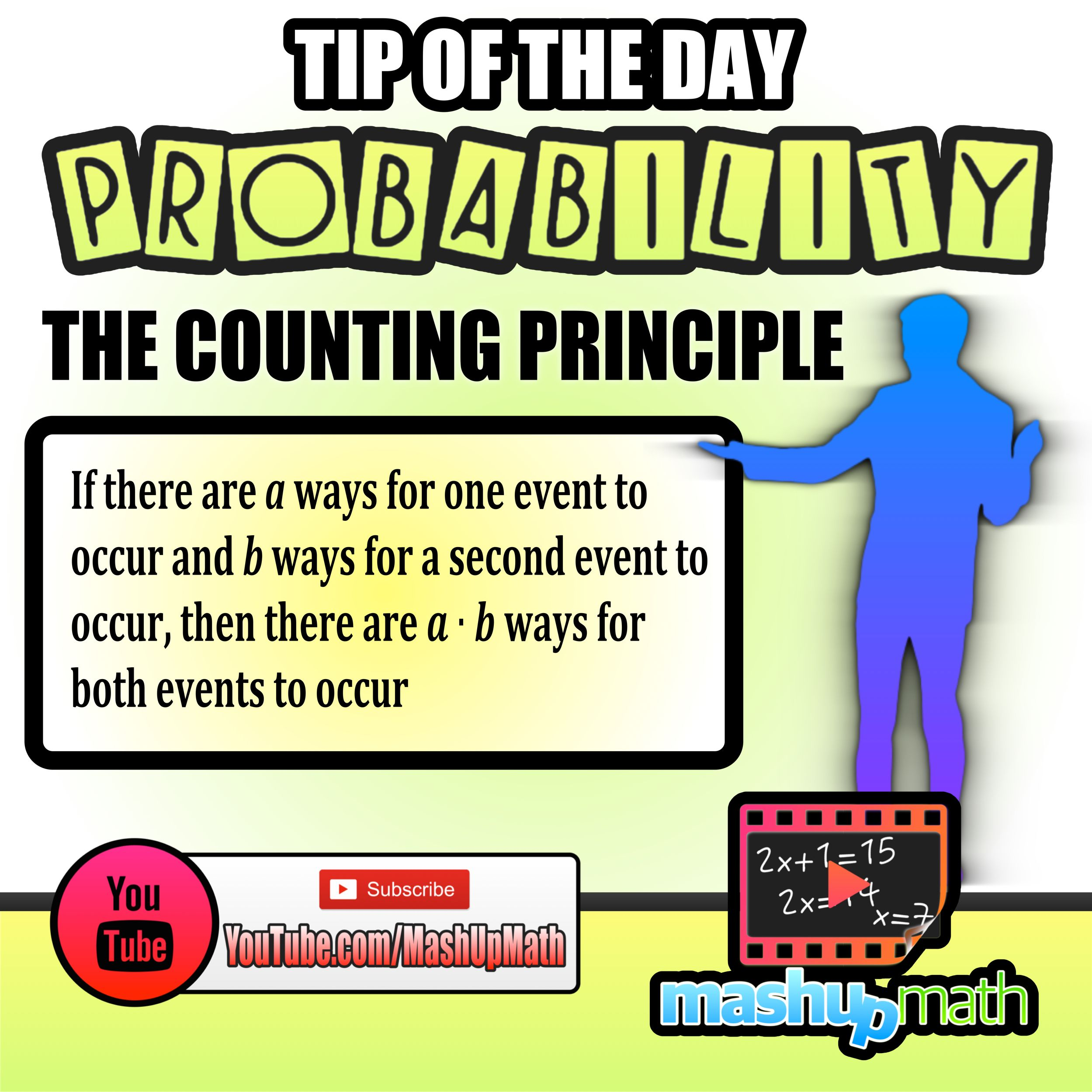 Do You Know The Counting Principle Catch All Of Our Daily