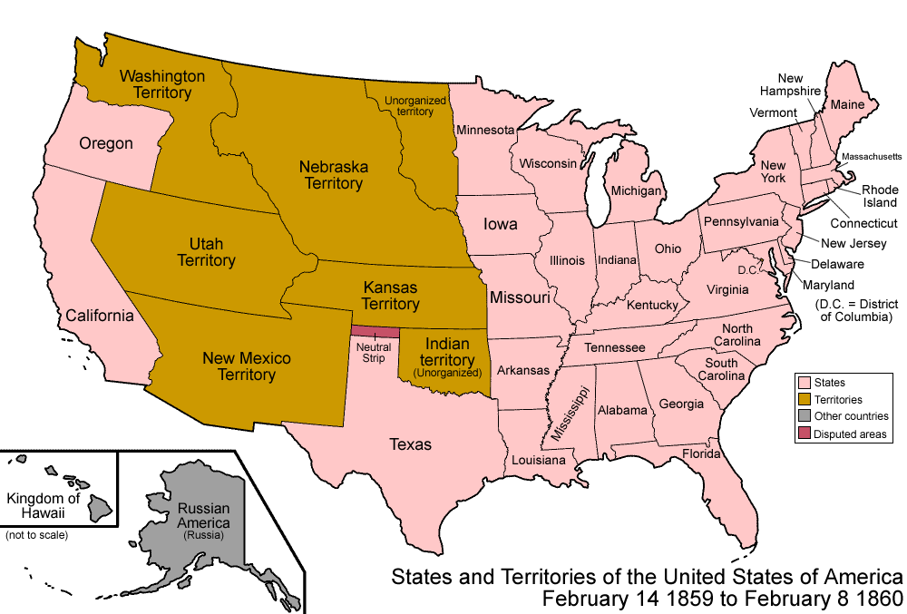 Wikipedia Us Map.Territorial Evolution Of The United States Wikipedia The Free
