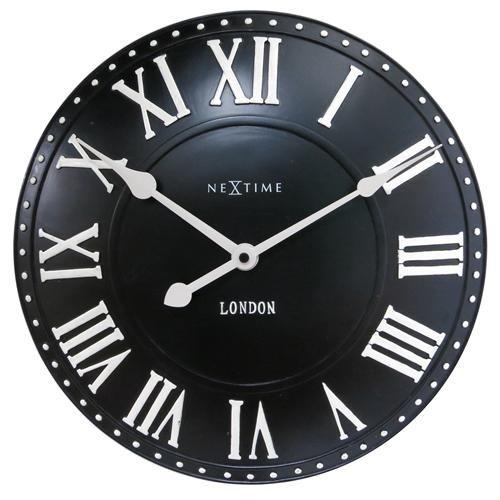 NeXtime London Roman Wanduhr Ø 34 cm Jetzt bestellen unter: https://moebel.ladendirekt.de/dekoration/uhren/wanduhren/?uid=97c01b7f-c711-5c88-a950-afb0c301b0be&utm_source=pinterest&utm_medium=pin&utm_campaign=boards #uhren #dekoration