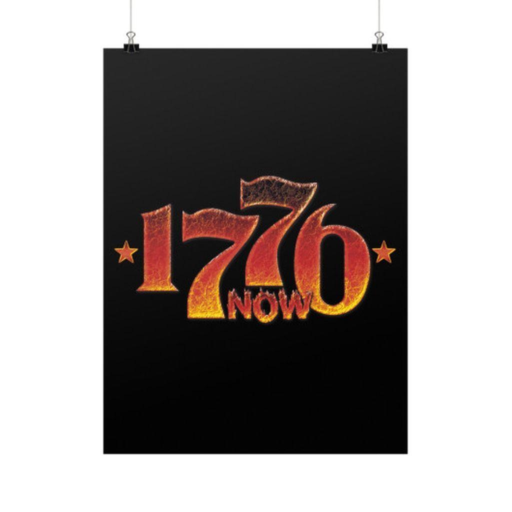 1776 Is Now 2016 Trump Revolution Vertical Fine Art Prints (Posters)
