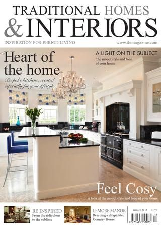 Traditional Homes Interiors Magazine Winter Issue Beautiful