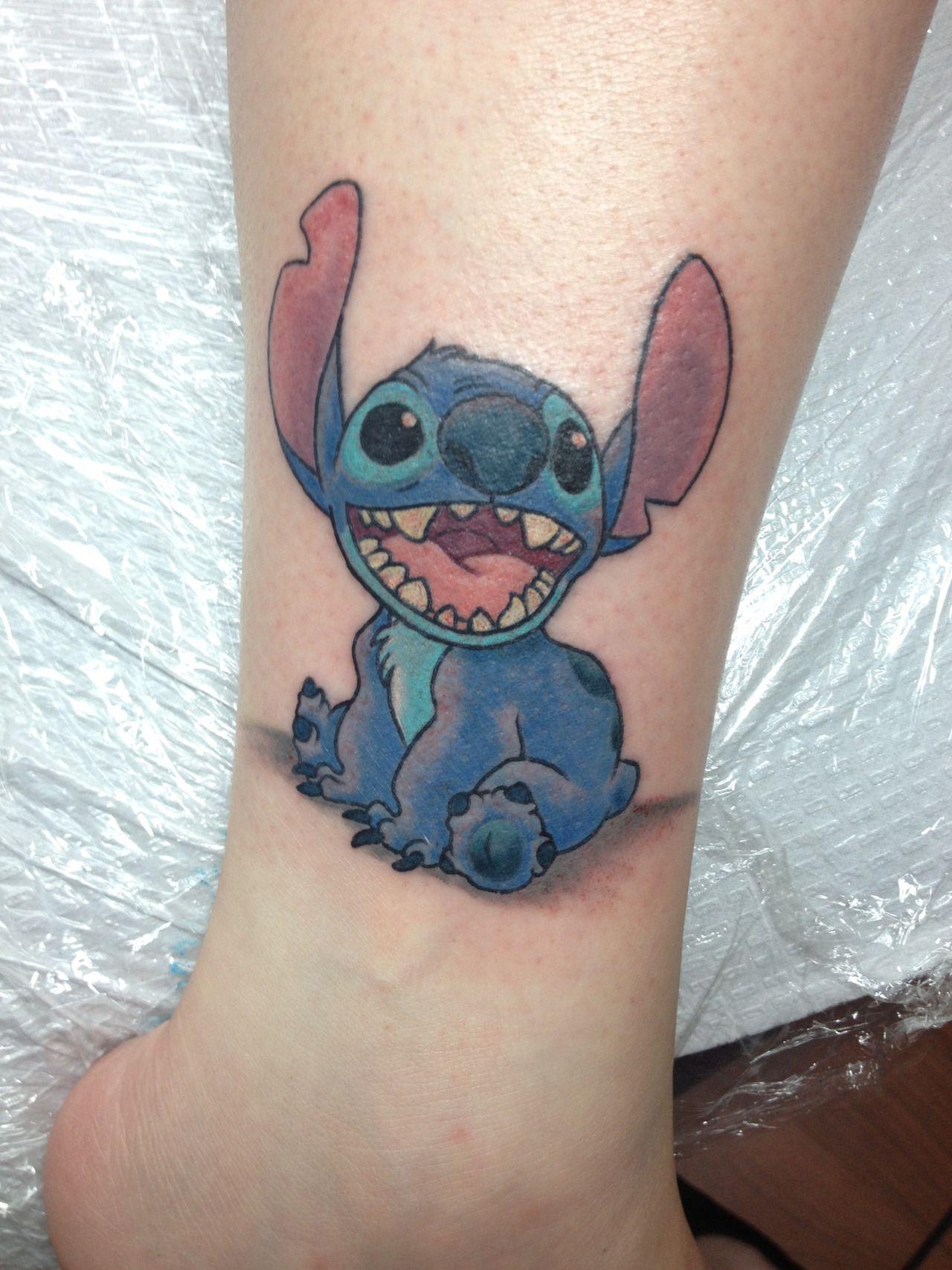 Stitching Tattoo: My Disney Tattoo! Stitch! Done By Tori At Studio 69 In