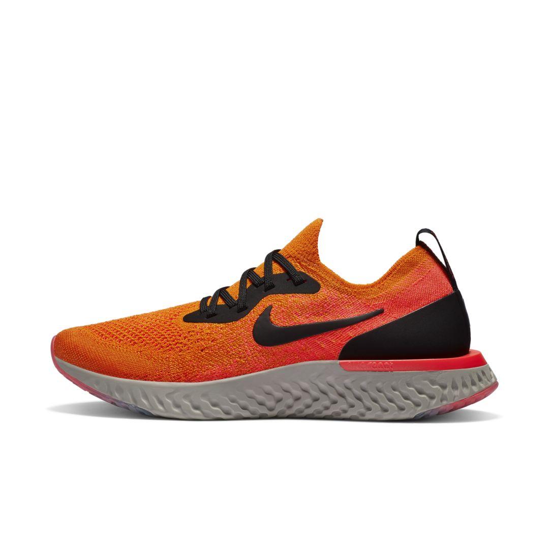 5fcbeee8fa8 Nike Epic React Flyknit Women s Running Shoe Size 10.5 (Copper Flash ...