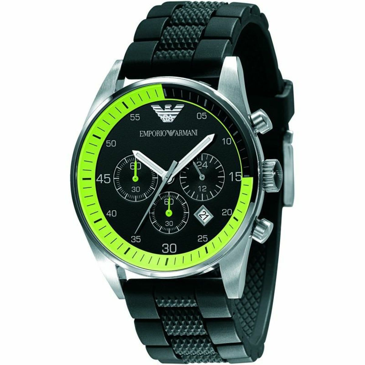 Emporio Armani Black Mens Sportwatch In 2020 Armani Watches For Men Mens Designer Watches Emporio Armani
