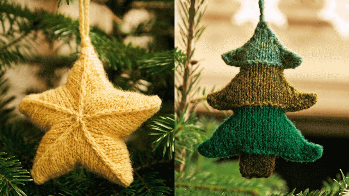 Pin by Martina Chamulová on Christmas Knitting in 2020   Christmas tree knitting pattern ...