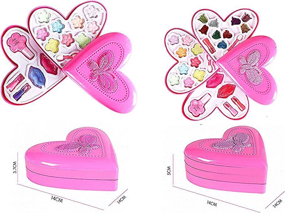 ألعاب أطفال أطفال حتى مجموعة للأزياء فتاة تلعب منزل هدايا عيد الميلاد الأطفال هدية لا سامة التظاهر مستحضرات التجميل للأطفال على Ali Pool Slides Sandals Fashion