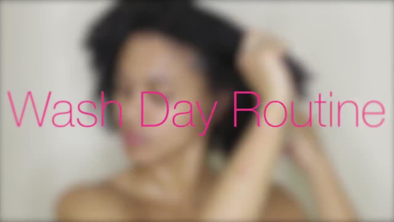 Natural hair wash day routine hair braids pinterest