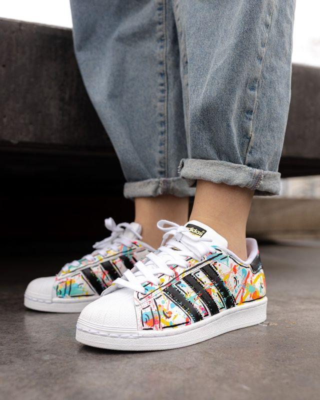 Adidas Superstar SPRING is here custom :)