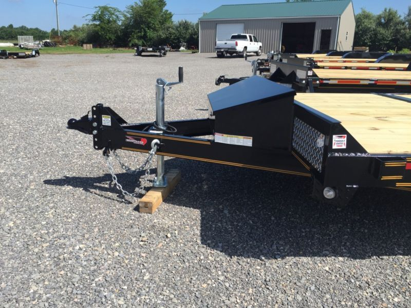 Trailer Sure Tilt Powder Coated Heavy Equipment Flatbed Utility Heavy Equipment Trailer Car Carrier