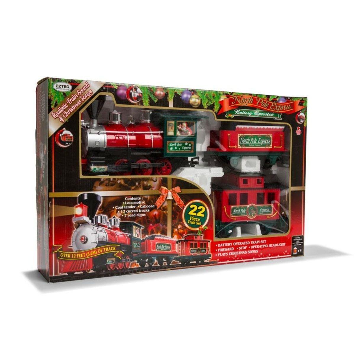 22-Piece North Pole Express Train Set | Kmart | Christmas ...