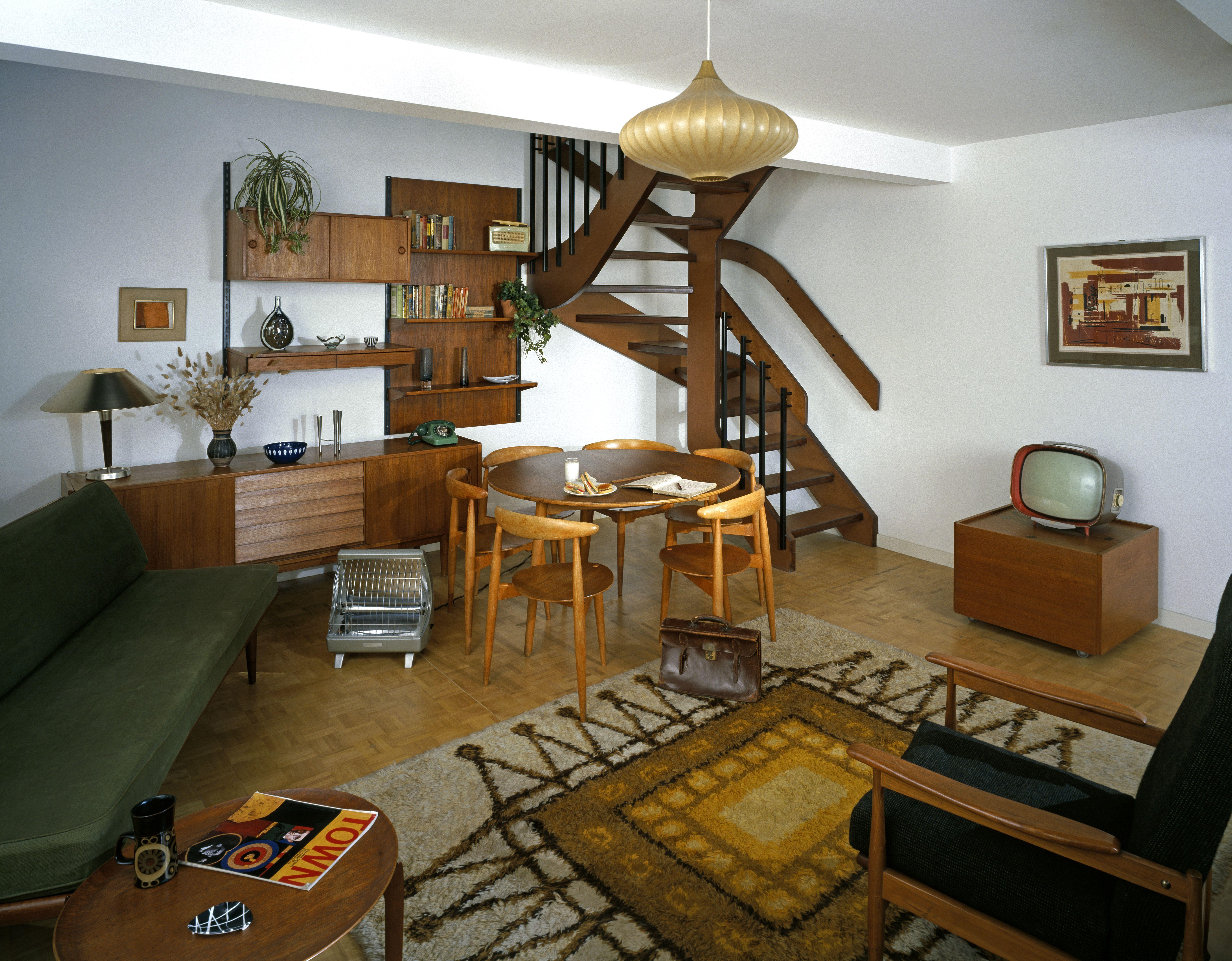Geffrye Museums 1965 Room, London