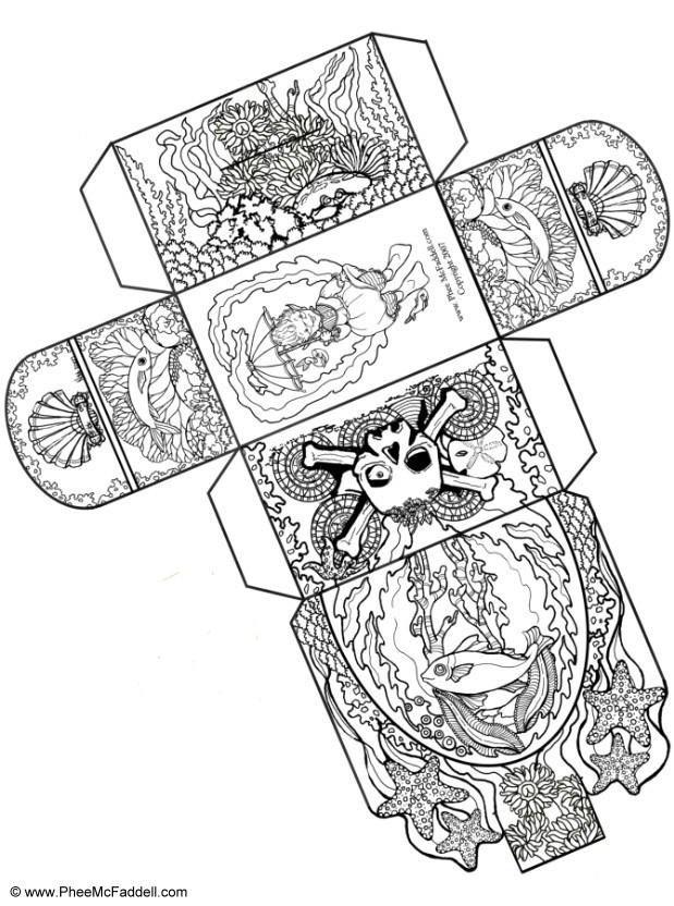 Treasure+Chest+Template | treasure chest craft - Google Search | paper craft templates