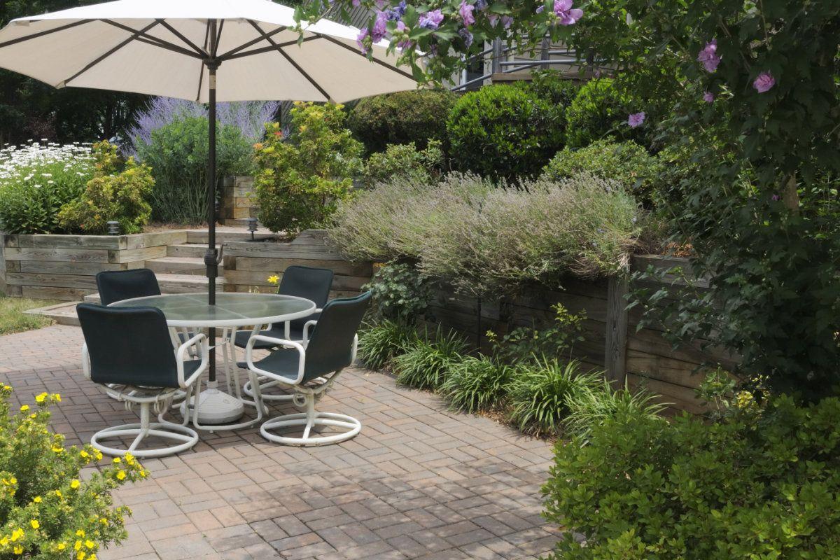 Kleine tuin aanleggen werkwijze prijs en inspiratie tuin