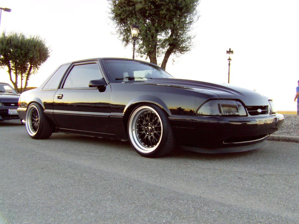 black foxbody mustang 5 0 fox mustangs cars mustang. Black Bedroom Furniture Sets. Home Design Ideas