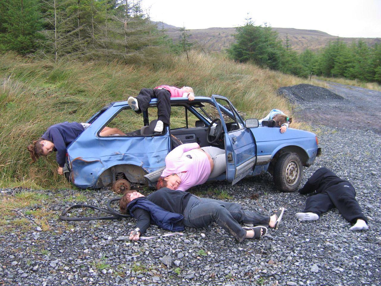 had a serious car crash