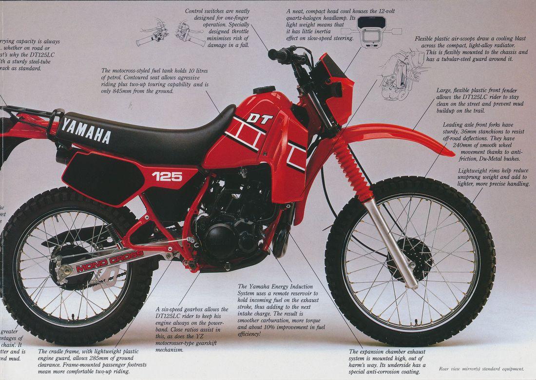 Yamaha Dt 125 Lc Image 2 Yamaha Yamaha 125 Japanese Motorcycle