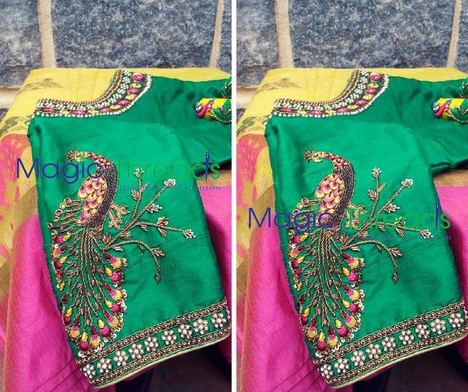 Pin de sripriya en Maugham blouses   Pinterest