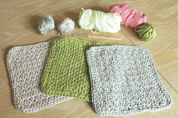 Spültücher häkeln - verschiedene Muster | Things I want to do ...
