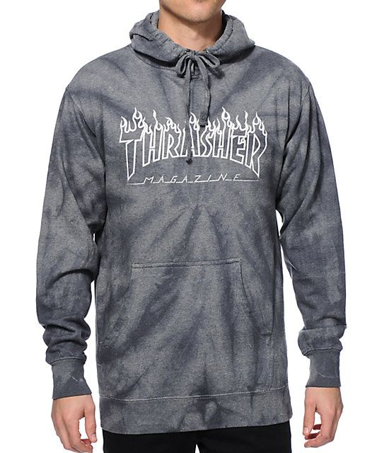 3a1f2d49c234 Thrasher Silver Flame. Thrasher Silver Flame Stylish Hoodies