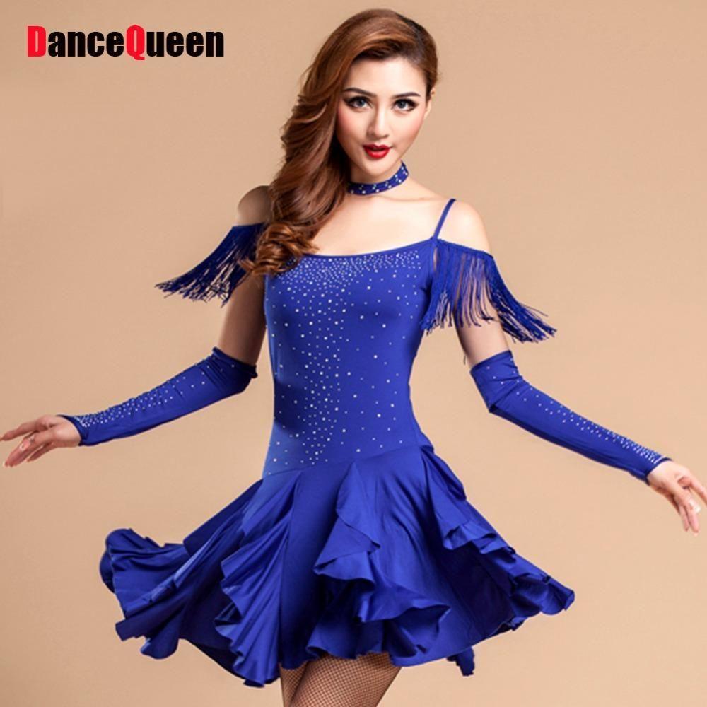 Latin Dance Dress - Black 3b5abd2fb