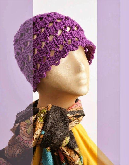 Crochet | Вязанные шапочки | Pinterest | Gorros, Gorros para dama y ...