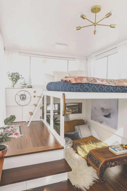 22 Clever Tiny House Interior Design Ideas in 2020 | Tiny house interior  design, Tiny house bedroom, Tiny house interior