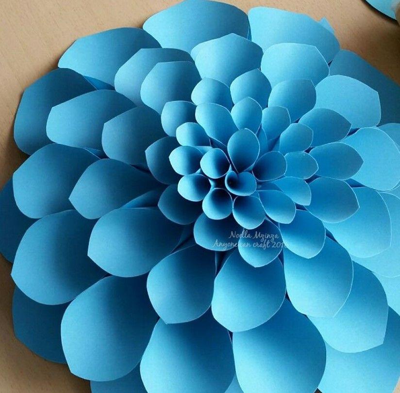 Large Flower Petals Crafts Pinterest Paper Flowers Flowers