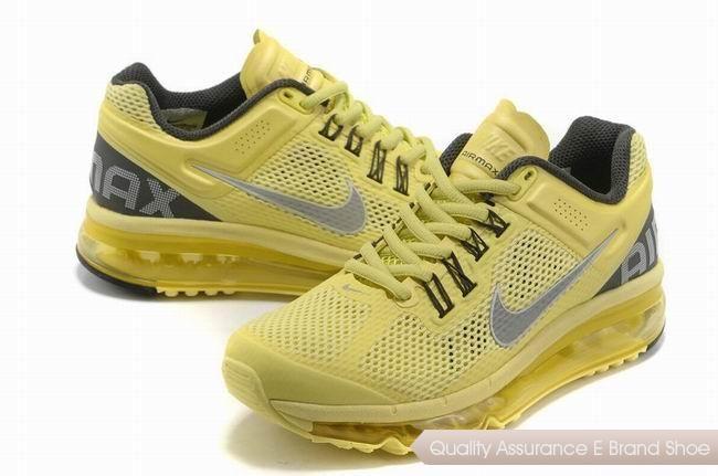 Women's Nike Air Max 2013 Shoes Yellow