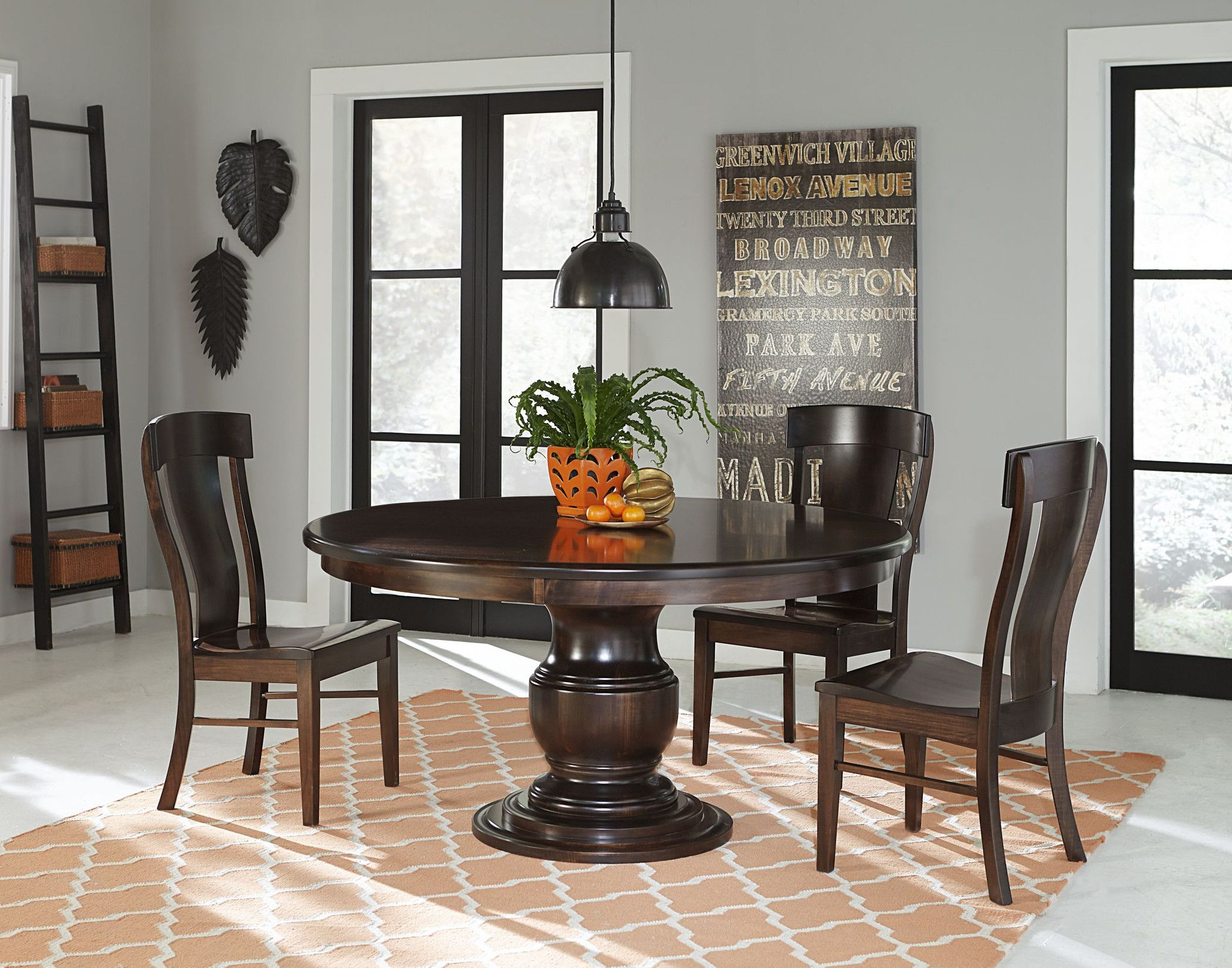 Plain And Simple Amish Furniture Evanston Dining Tables A Centerpiece That Spans Generations Pinned By Chirenovation Www
