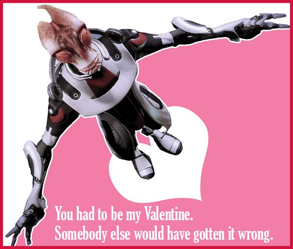 Why Do Nugs Suddenly Appear Bioware Valentines Now this one – Dragon Valentine Cards