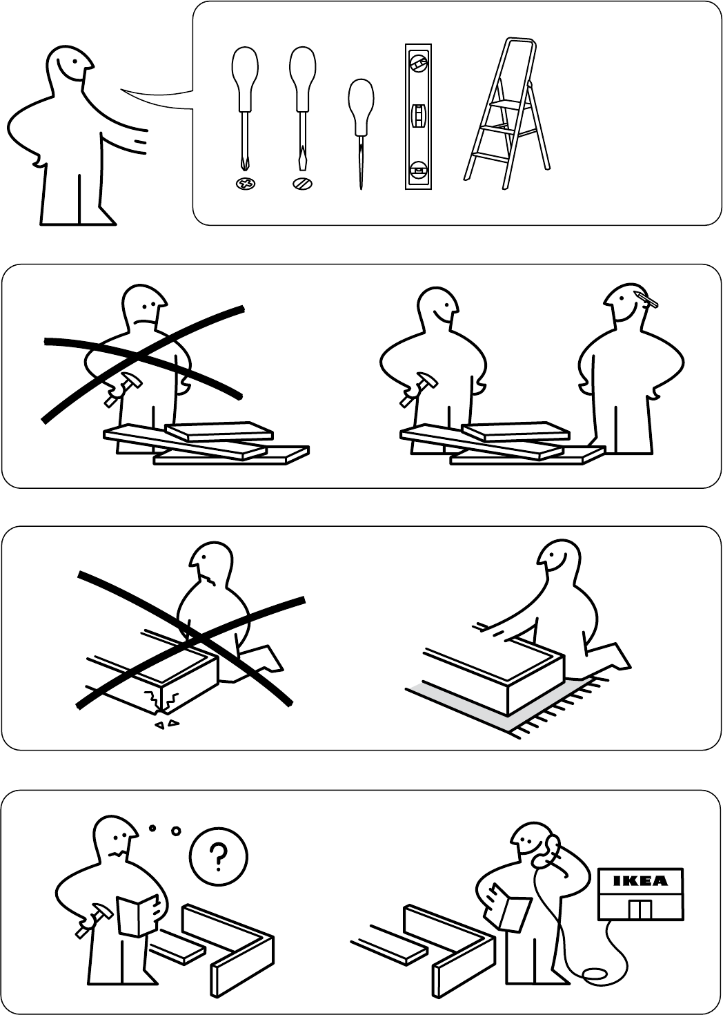 Cucina Ikea Pdf Ikea Expedit Instructions Pdf Expedit Instructions Furniture