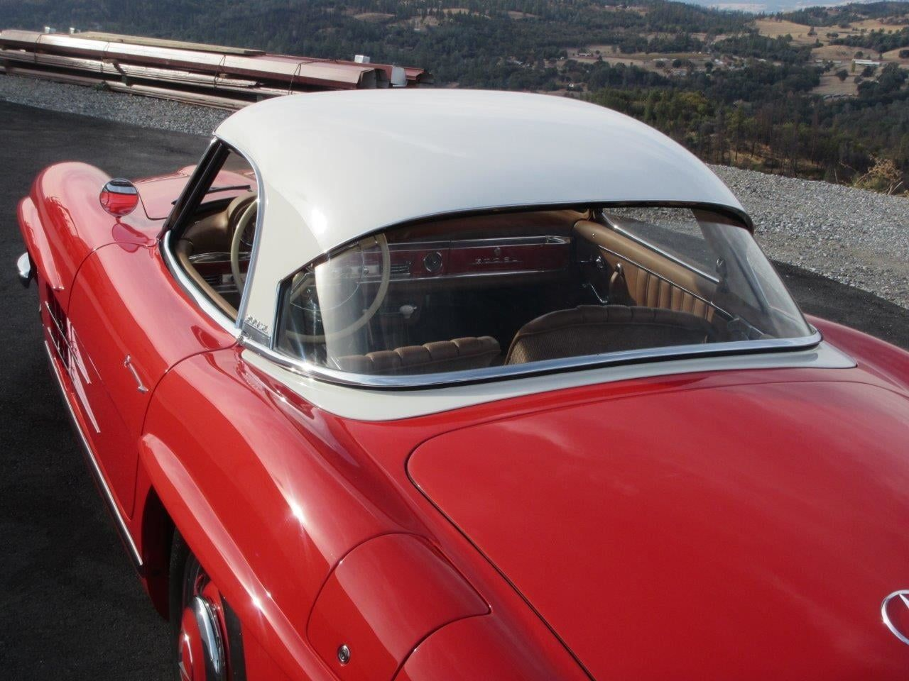 1958 MercedesBenz 300SL Roadster presented as Lot S108 at