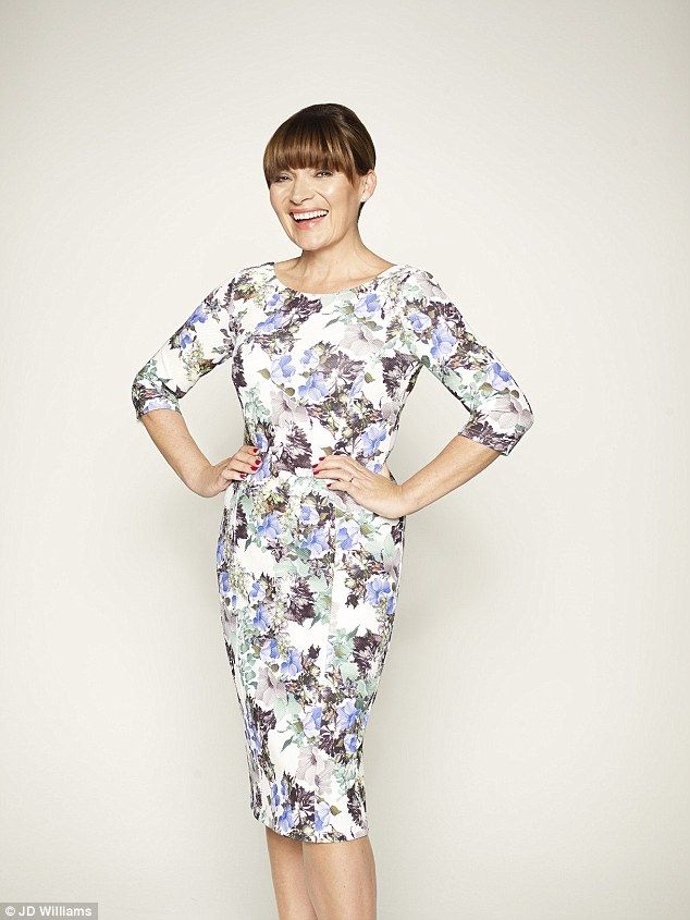 16dbbe1d33 55 year old British TV presenter Lorraine Kelly has designed a range of  clothes for women