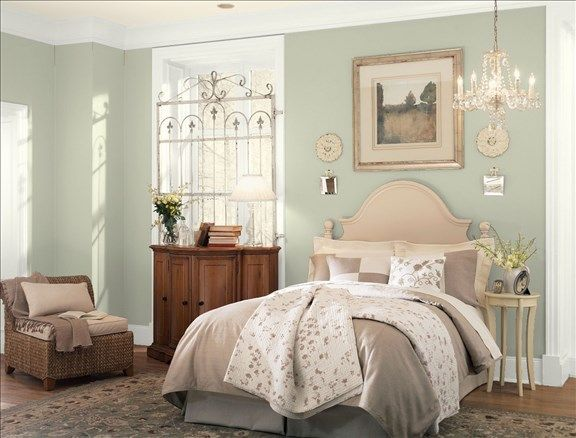 Benjamin Moore Personal Color Viewer October Mist Bedroom Color
