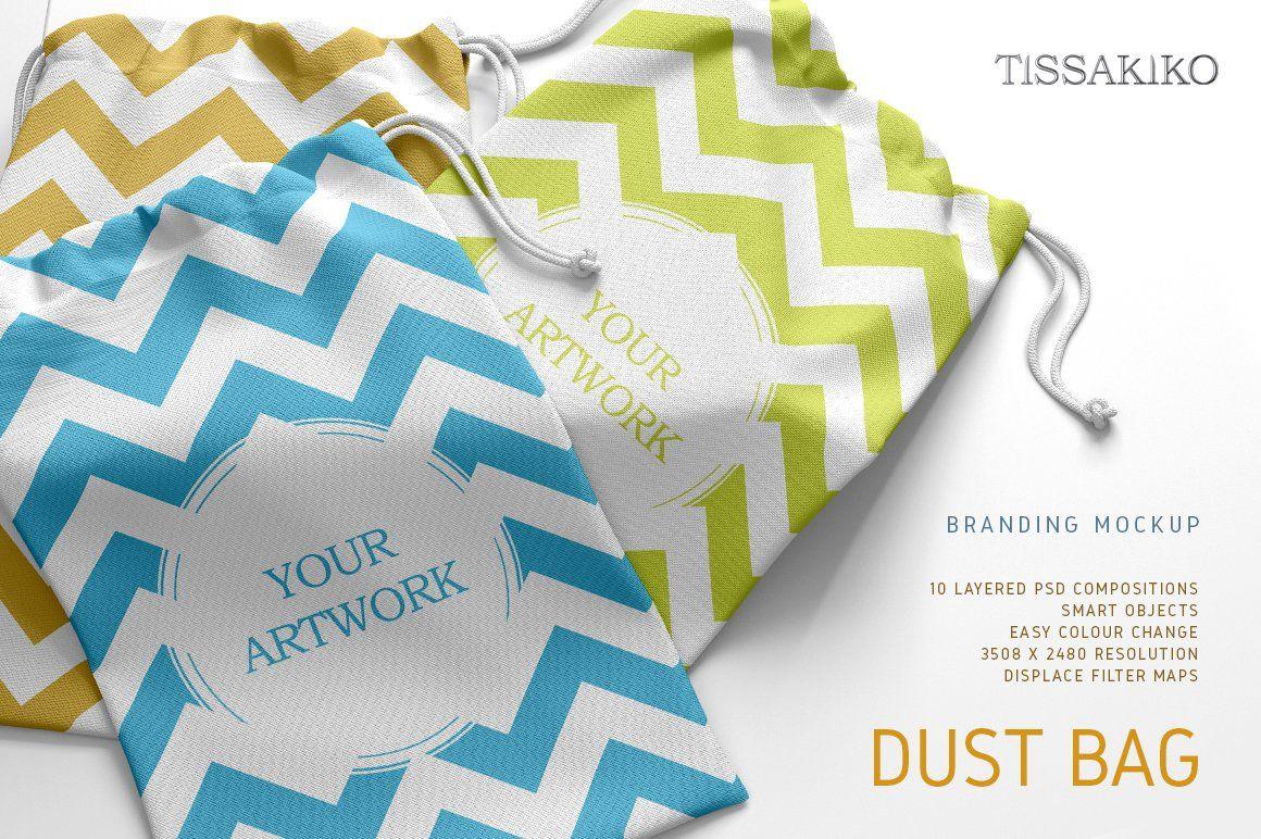 Download Dust Bag Mockup Bag Mockup Branding Mockups Mockup Free Psd