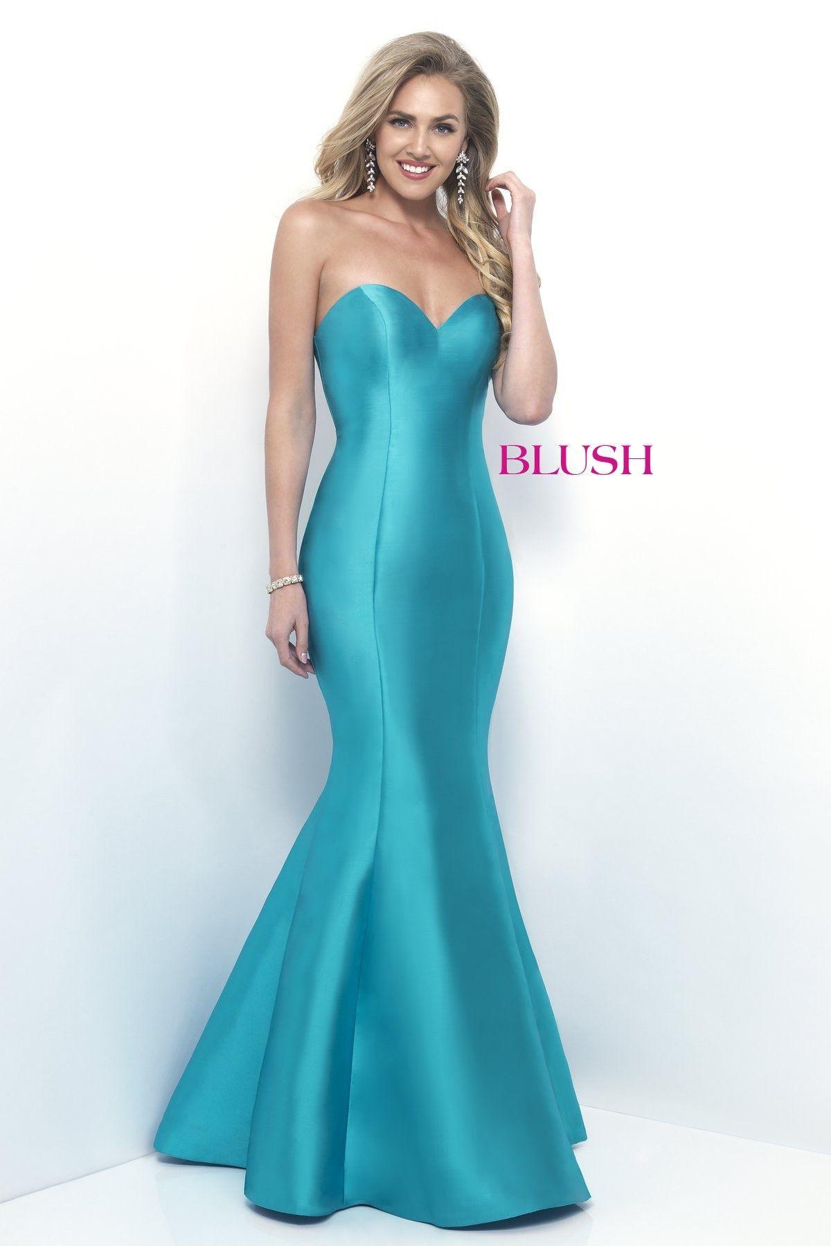 Blush Prom 11238 Turquoise Mermaid Prom Dress | prom dresses ...
