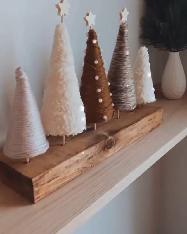 Last minute Christmas🎄 decor!? TRY THIS DIY! 😍I Love it💝 What do you think?✨