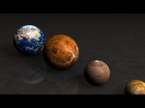 ▶ PLANETS AND STARS SIZE - COMPARISON - EARTH SIZE - YouTube