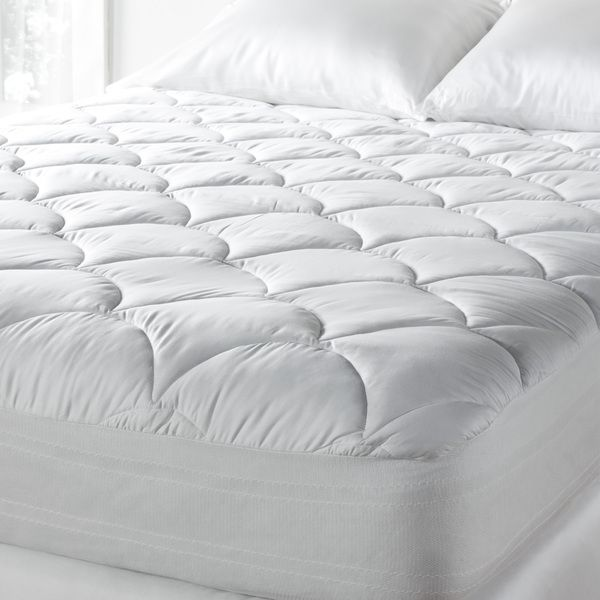 Tommy Bahama 300 Thread Count Cotton Sateen Easy Care Mattress Pad