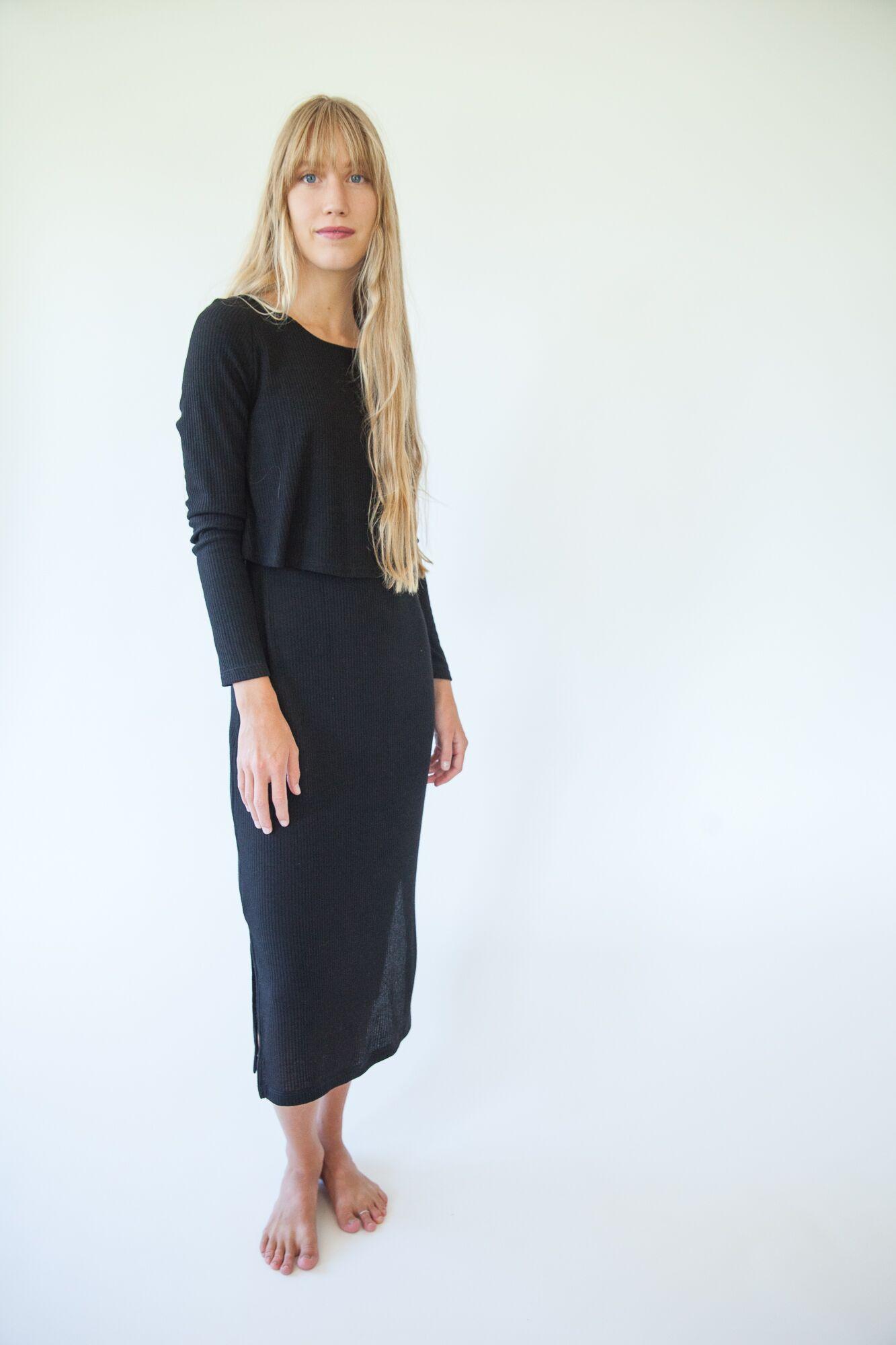 Natalie Knit Midi