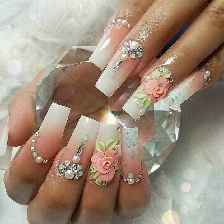 Irsa nail art   Nail design   Pinterest   Diseños de uñas, Arte de ...