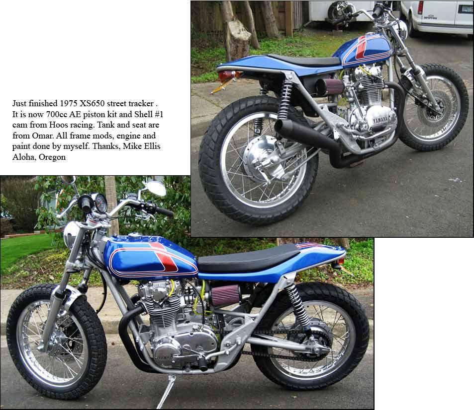 Street Trackers - Yamaha | xs650 | Street tracker, Yamaha, Motorcycle