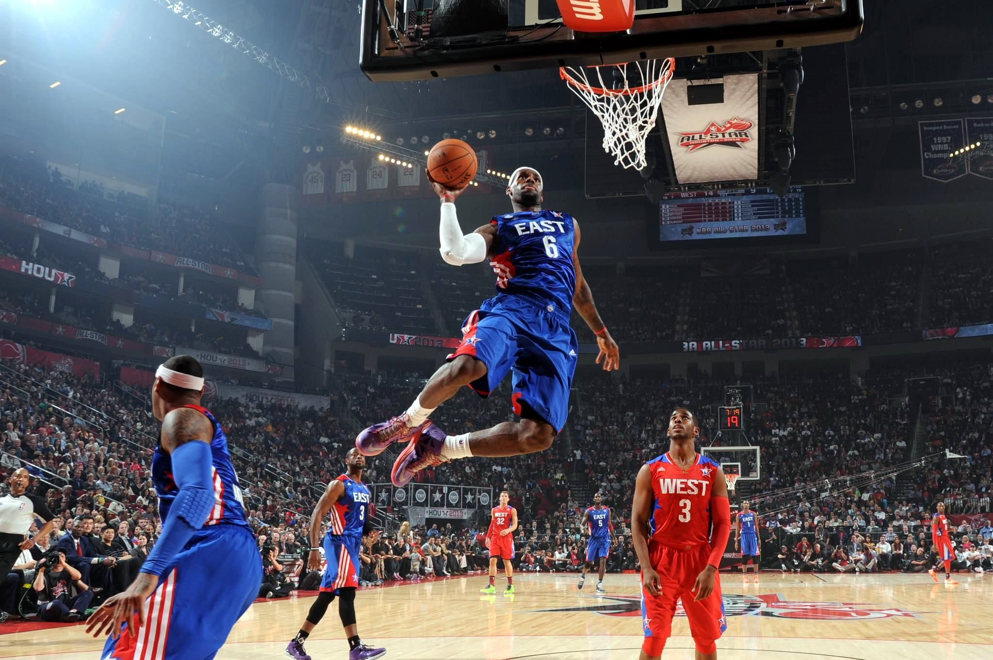 LeBron James, 2013 #NBA All-Star Game. Credit: Bleacher ...  LeBron James, 2...