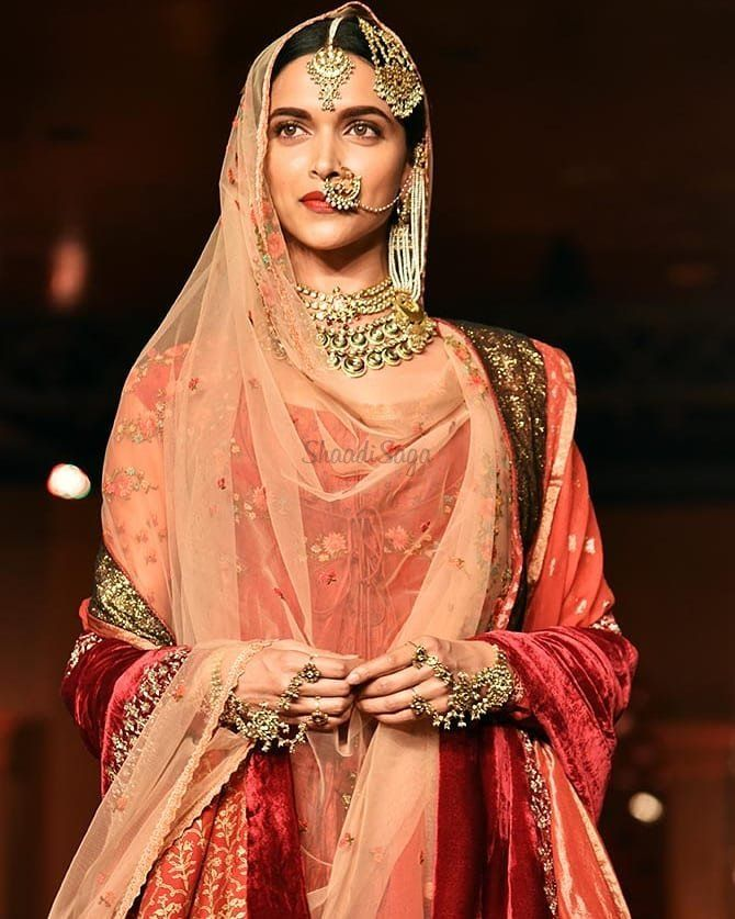 11 Bridal Looks Of Deepika Padukone That'll Never Go Out ...