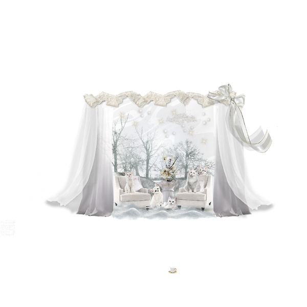 Fashion Set Snow Drift Living Room Created Via Fashion Set Art Decor Creative Home