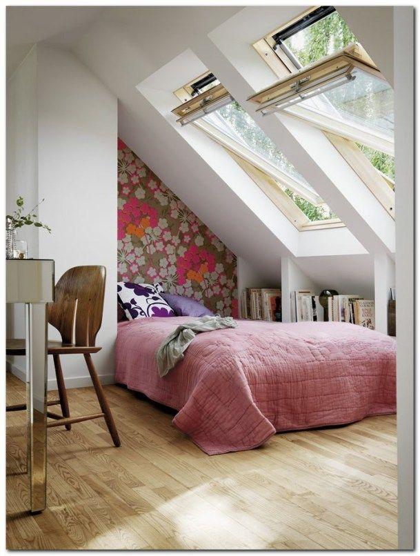 Simple Loft Conversion Ideas For Dormer. Attic Bedroom DesignsSmall ...