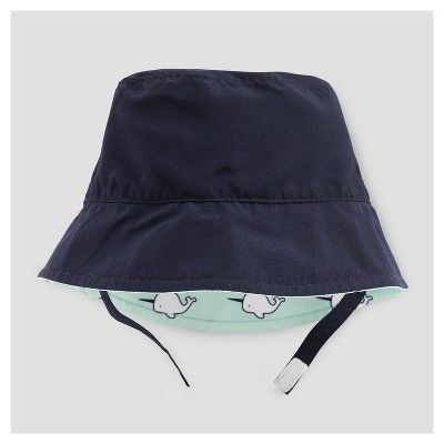 dc4914d0 Baby Boys' Narwhal Reversible Bucket Hat Cat & Jack - Aqua 12-18M, Size:  12-18 M, Blue