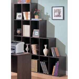 Housewarming Gifts Contemporary Home Office Cube Bookcase Display Shelves