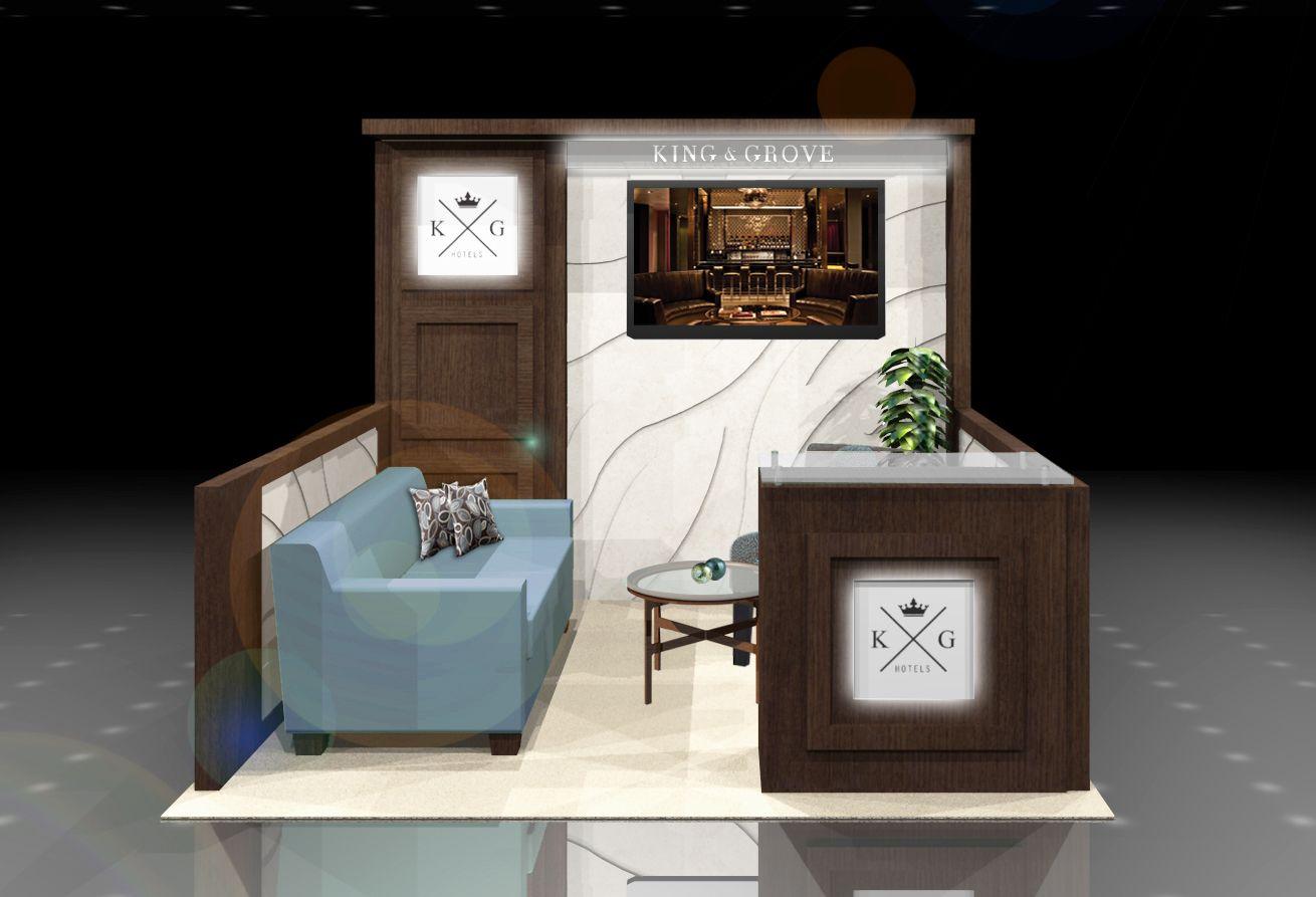 10x10 Exhibit Booth Exhibition Design Conceptual Design Small Designs