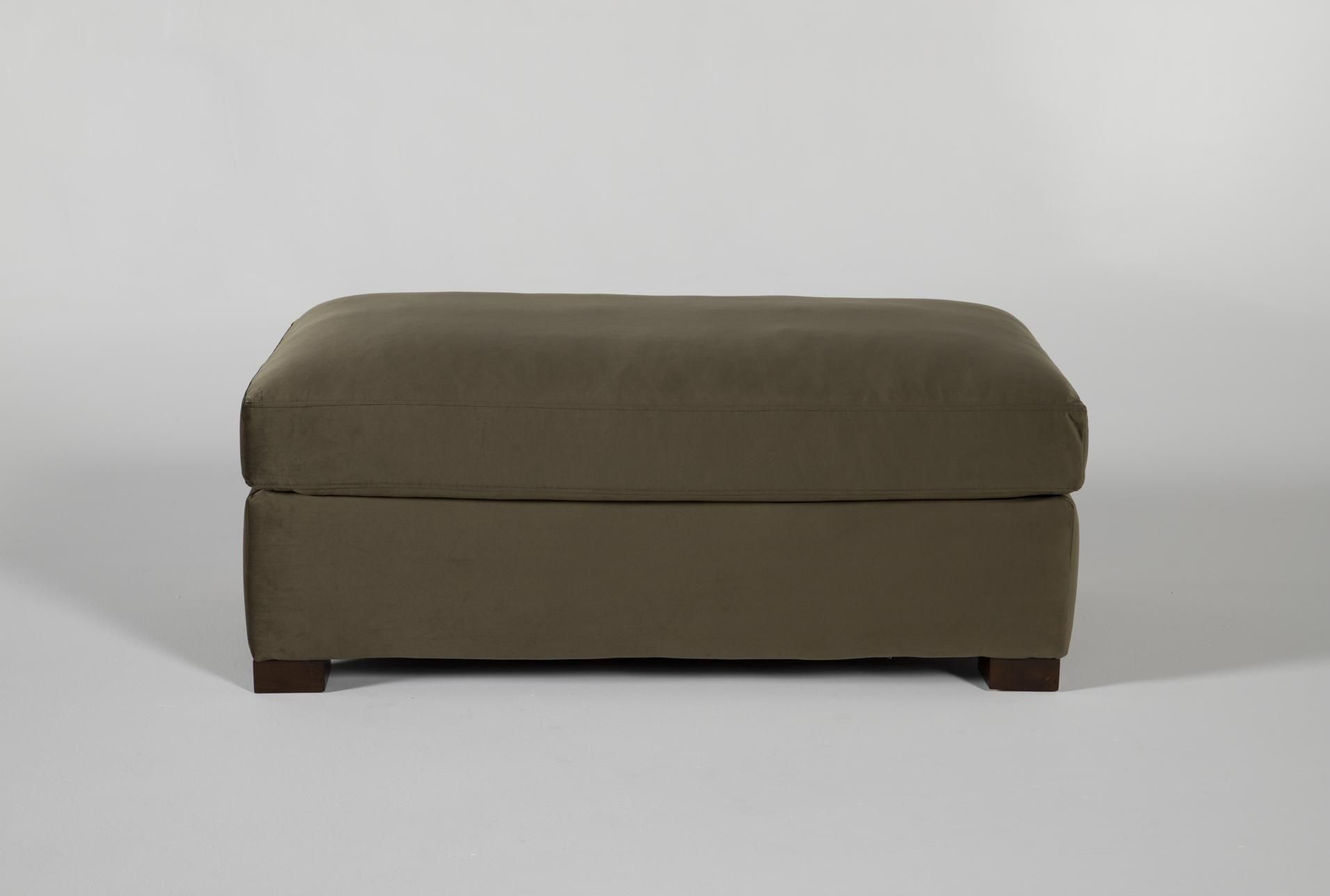 Magnolia Home Walden Luxe Moss Ottoman By Joanna Gaines - Green - $349 #magnolia...